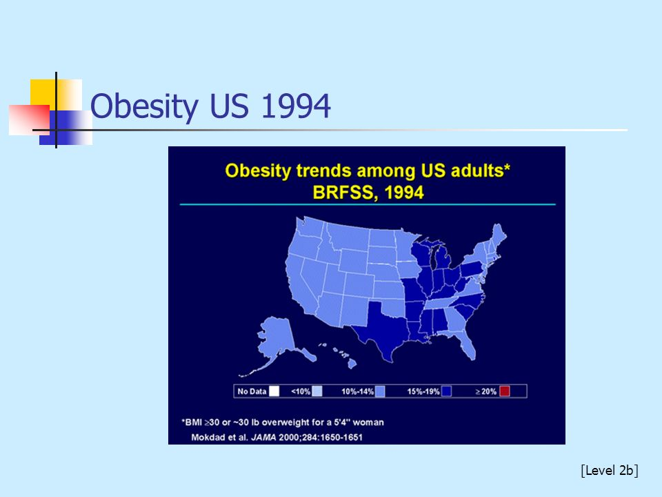 Obesity US 1994 [Level 2b]